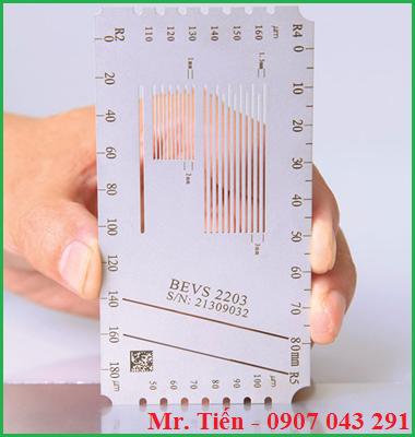 Thước đo đa chỉ tiêu sơn Multi-hatch Gauge BEVS 2203