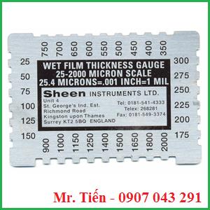 Thước đo độ dày màng sơn ướt SH 1150