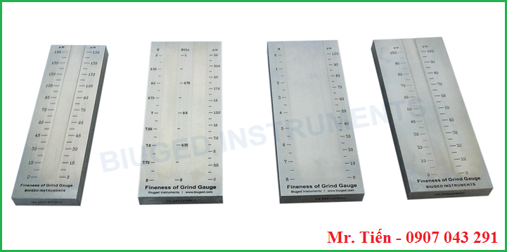 Thước đo độ mịn sơn BGD hãng Biuged