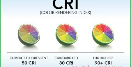 Tìm hiểu về chỉ số hoàn màu của bóng đèn CRI (Color Renderding Index)