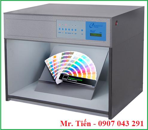 Tủ so màu 5 nguồn sáng Philips: D65/TL84/CWF/UV/F